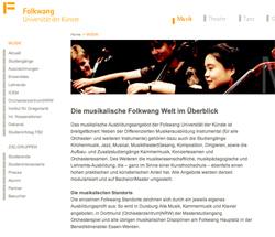 Markenarchitektur für Folkwang