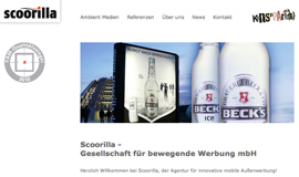 solobrand goes Ambient: scoorilla